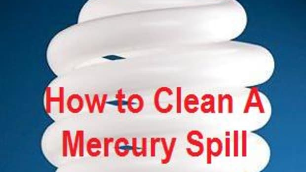 clean mercury spill