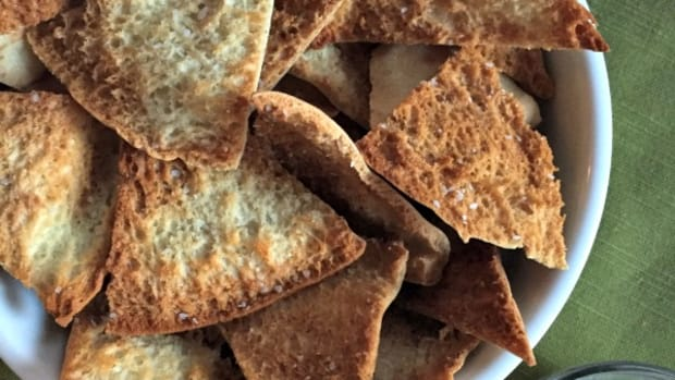 Snack Time - Homemade Pita Chips