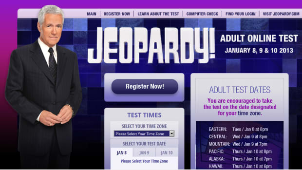 Jeopardy Online Test Registration is Open