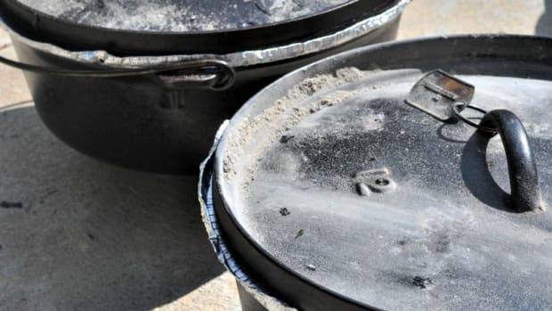 Preheated Dutch Ovens