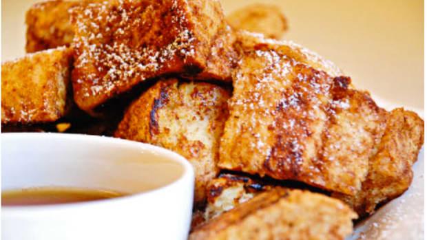 Cinnamon Sugar French Toast Bites Recipe from Williams and Sonoma