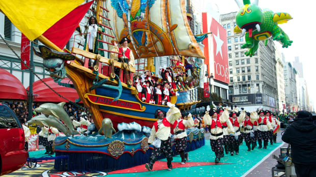 Macy's Thanksgiving Day Parade in New York City (Courtesy Macy's)