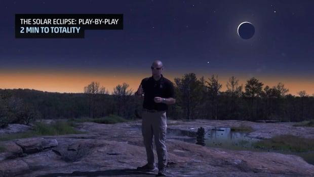 Solar Eclipse Simulation