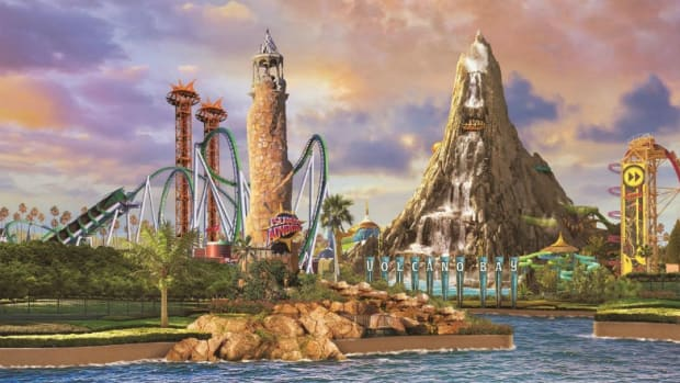 Universal's Volcano Bay is one of the new at Universal Orlando attractions to look forward to in 2017. (Courtesy Universal Orlando)