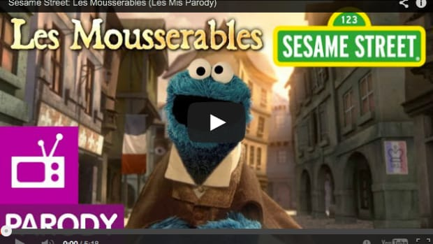 Cookie Monster Les Miserables Video
