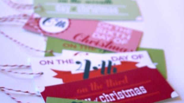 printable 12 days of christmas tags_image