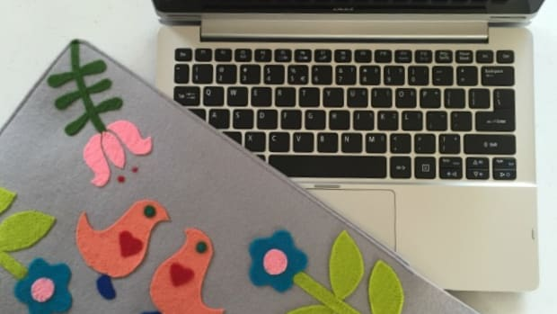 Acer Switch 11 Notebook with my diy Scandinavian cover
