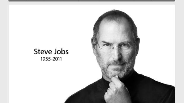Steve Jobs Apple.com Memorial Page