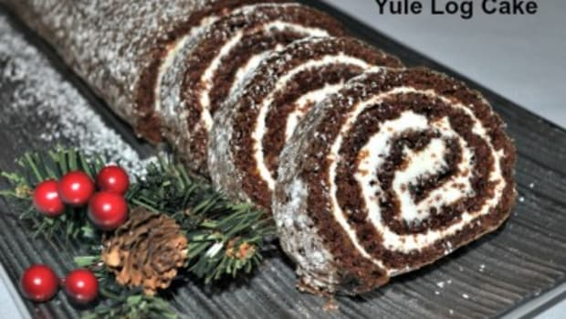 How many calories can you burn eating Amy's Yuel Log cake?