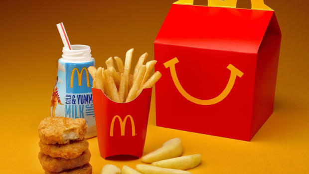 McDonald's phasing out antibiotics and soda
