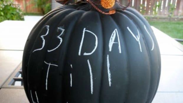 DIY - Chalkboard Pumpkins