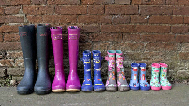 Giveaway: Wellies for the Whole Family from  Joules USA!