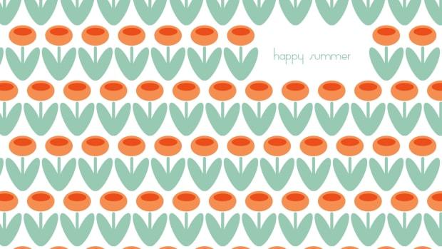 Summer Desktop and iPad Wallpaper on TodaysMama.com