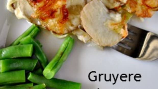 Easter Brunch - Gruyere Cheese Potatoes on TodaysMama.com #easter #brunch