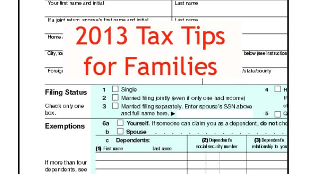 2013 Tax Tips for Families