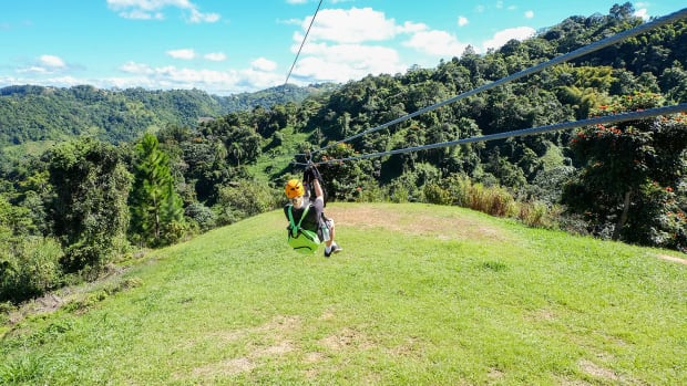 Teens will love a zip line tour during their family vacation. (Photo: Michelle Rae Uy)