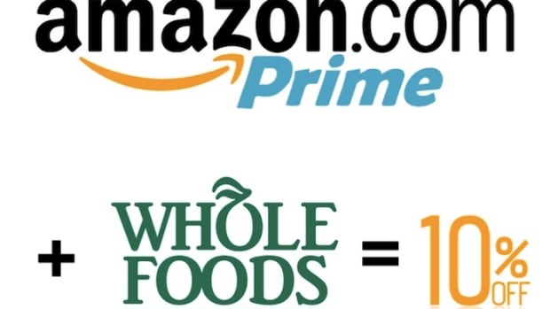 Amazon Prime Whole Foods Logos