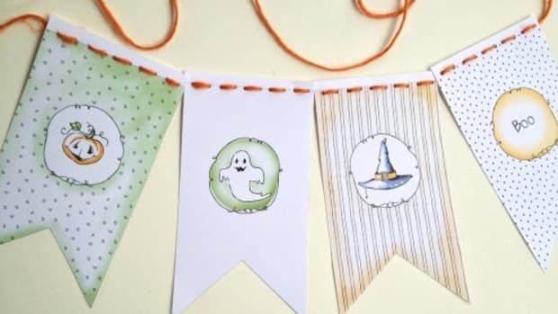 Printable Halloween Party Banner on TodaysMama