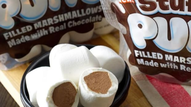 Stuffed Puffed Chocolate Stuffed Marshmallows