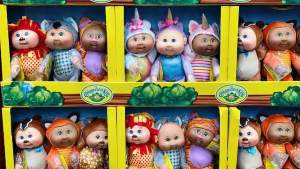 Cabbage Patch Kids at Costo