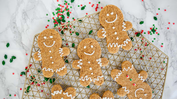 gingerbread cake mix cookie recipe