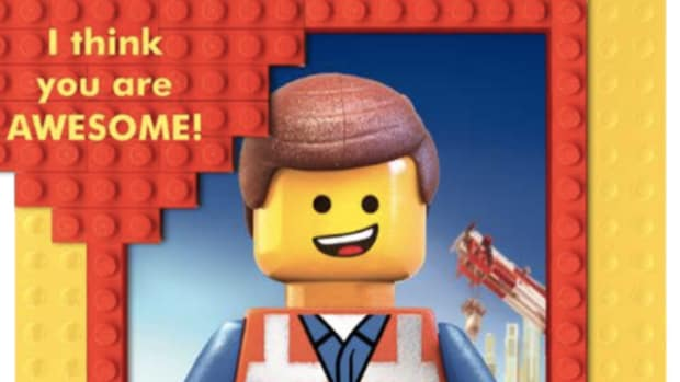 Lego Movie Valentine Cards