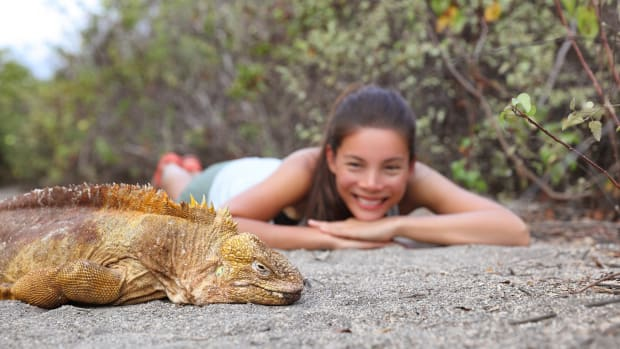 Worldschooling in Galapagos
