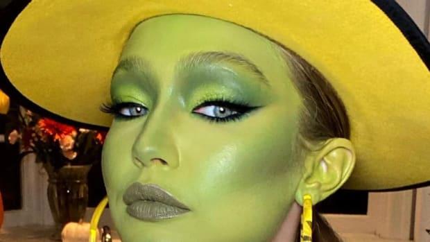 Gigi Hadid The Mask Halloween Costume