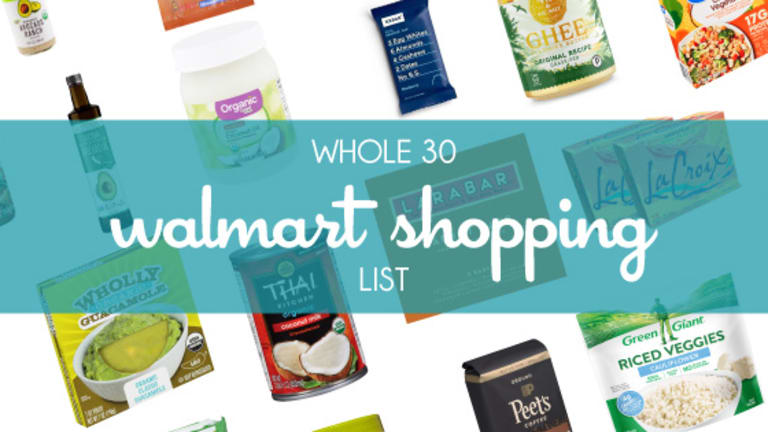 Walmart Whole 30 Grocery List