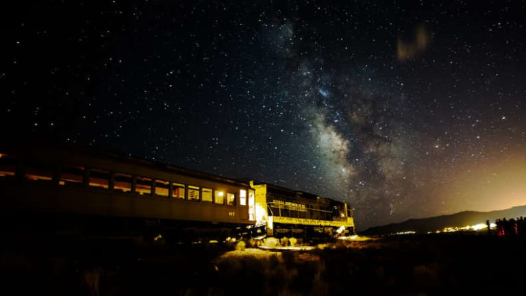 The Star Train Will Take Your Family Deep Into the International Dark Sky Park to Stargaze