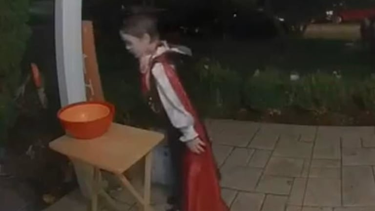 Watch What Happens When Young Dracula Discovers an Empty Candy Bowl on Halloween