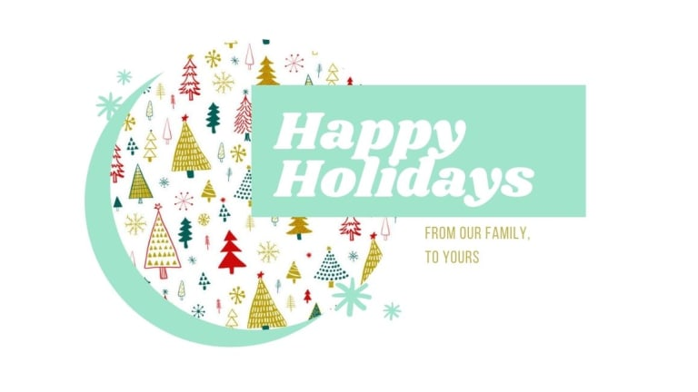My Holiday Newsletter