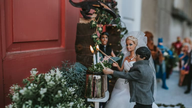 Against All Odds: Barbie & Louis Tie the Knot