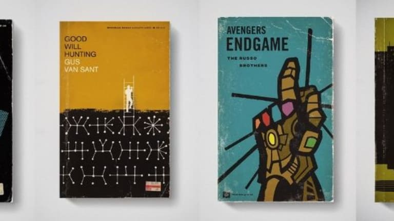 Designer Reimagines His Favorite Movies as Old Book Covers