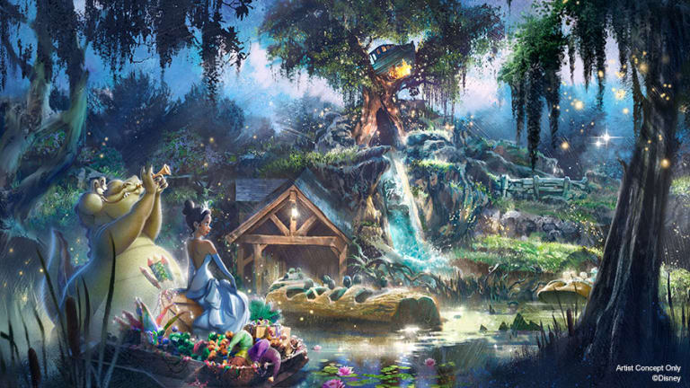 "Disney's Splash Mountain Will Soon be Re-Themed as ""Princess and the Frog"""