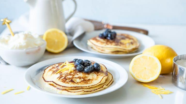 Best Lemon Ricotta Pancakes