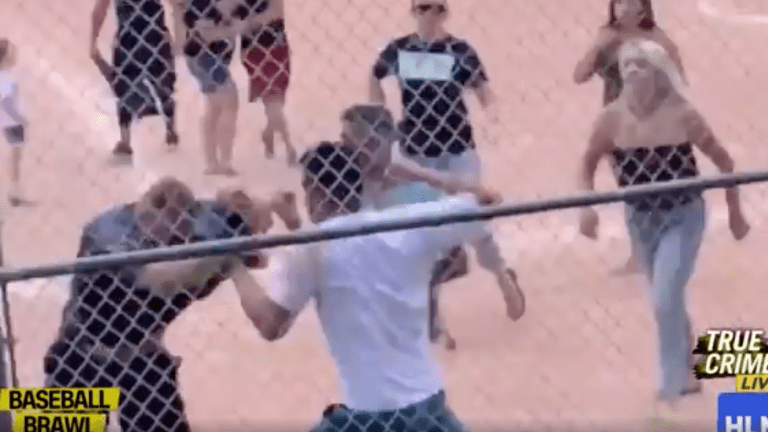 Parental Brawl Breaks Out at 7-year-old Baseball Game
