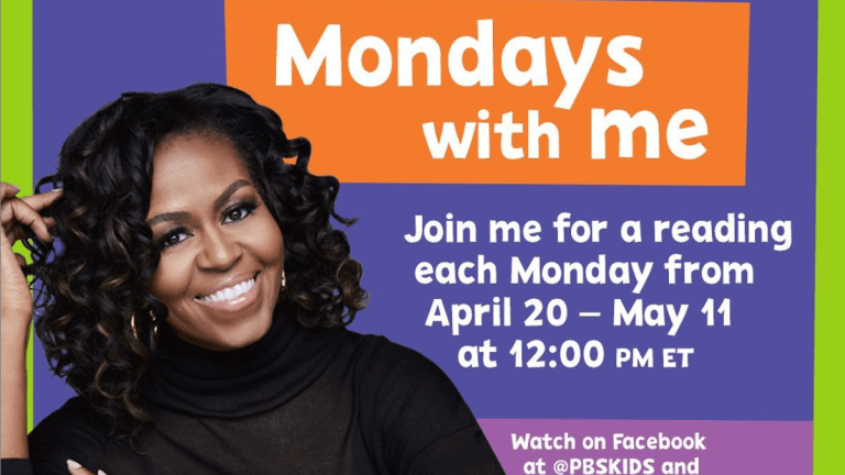 Michelle Obama is Making Mondays Magic with Virtual Story Time