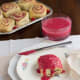 raspberry sweet roll recipe