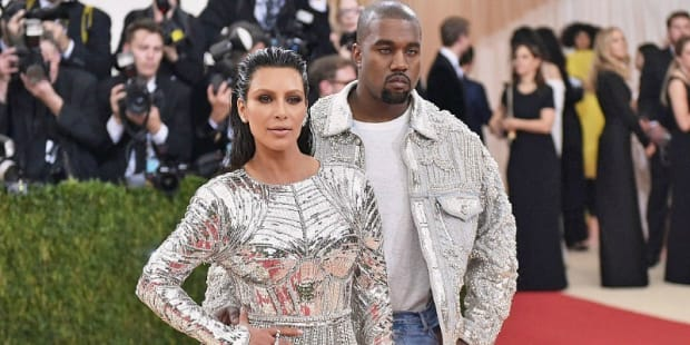 Kim and Kanye Matching Outfits