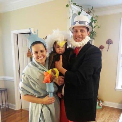 patriotic family halloween costume