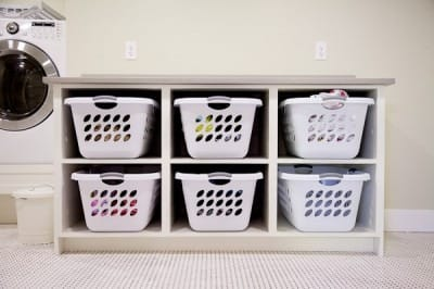 DIY Laundry Room Cabinets - Today's Mama