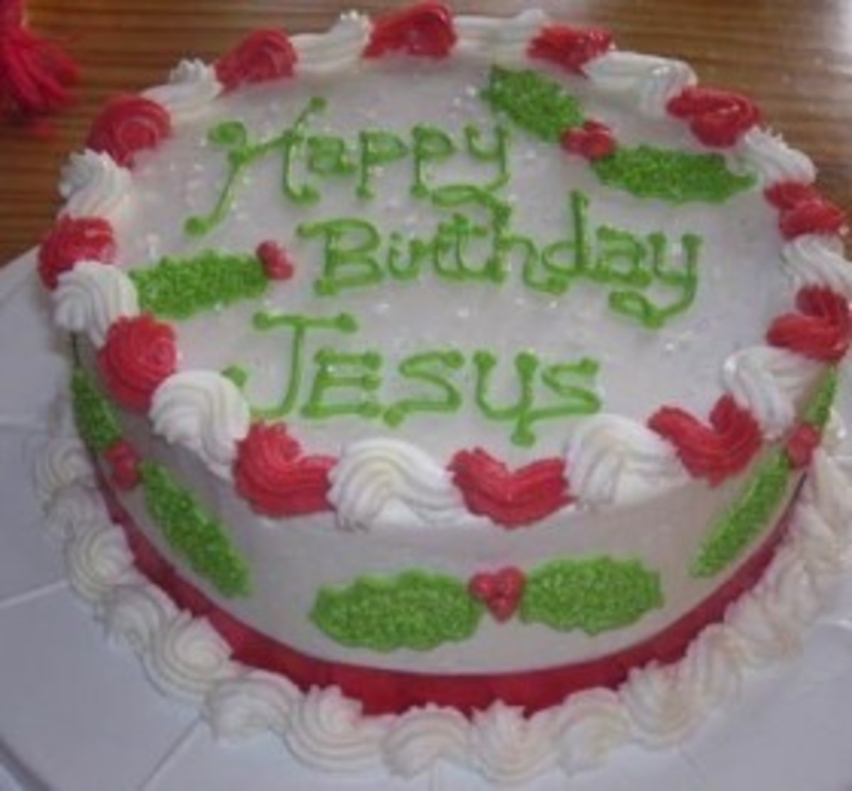 Excellent A Birthday Cake For Jesus Todays Mama Personalised Birthday Cards Veneteletsinfo