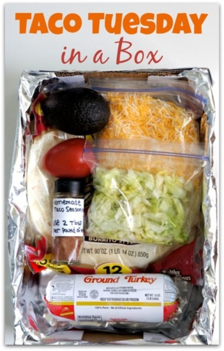 Taco Tuesday Dinner In A Box An Easy Way To Bring Dinner To A Friend Today S Mama