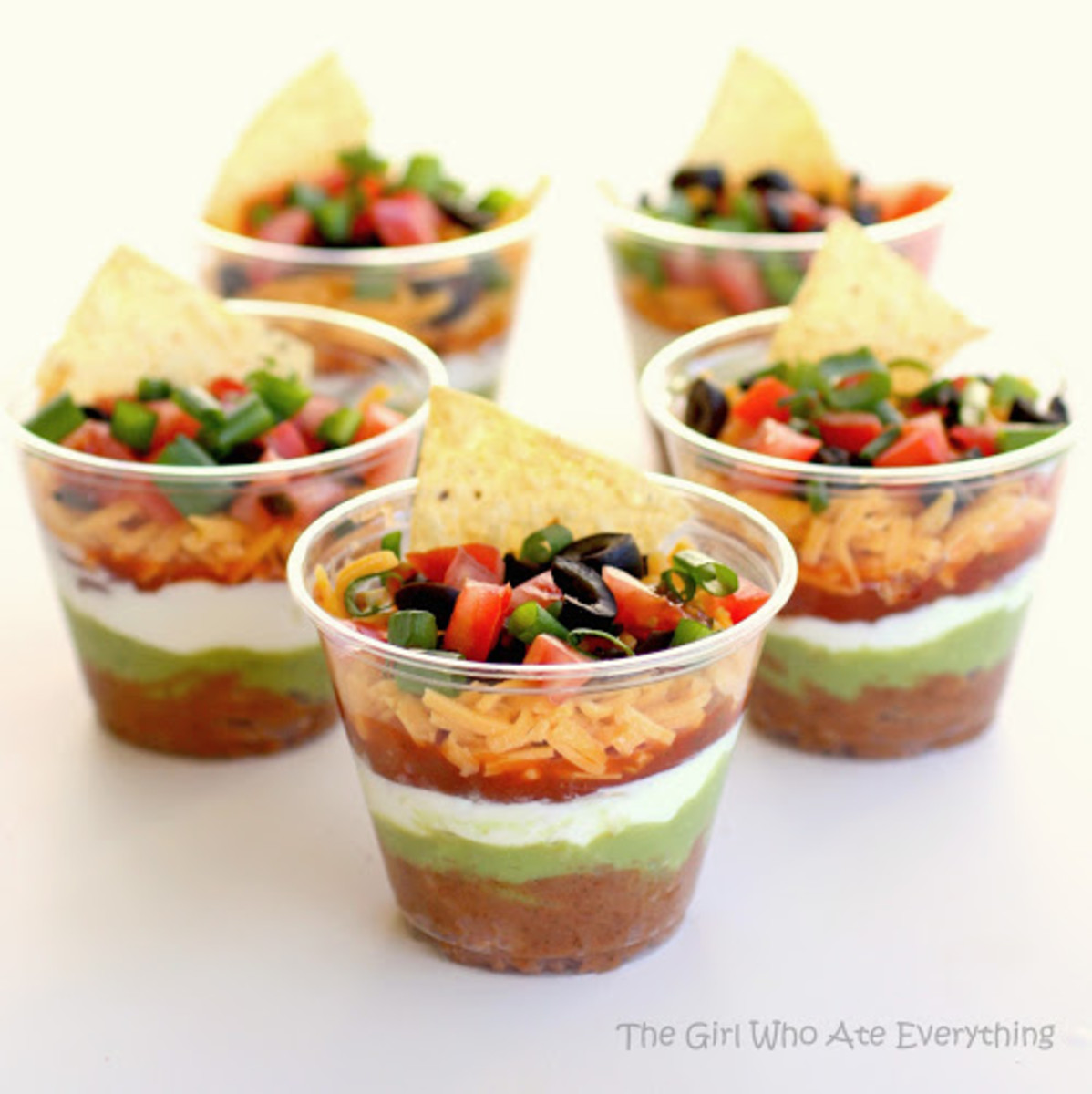 Individual 7-Layer Dips | The Girl Who Ate Everything