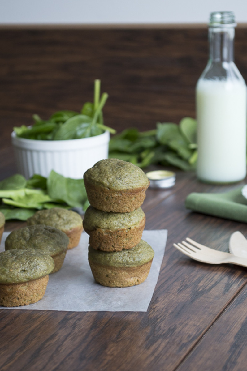 Green Monster Smoothie Muffins | The First Year Blog