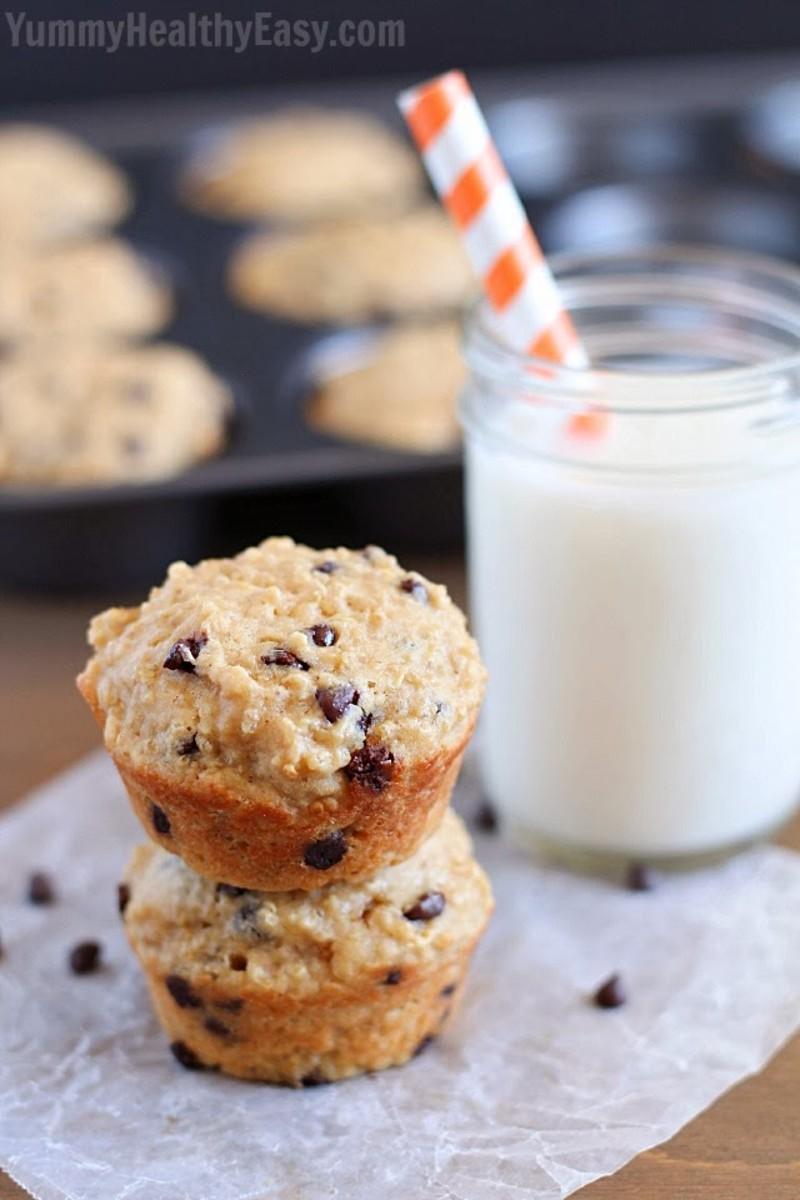 13 Healthy Muffin Recipes www.TodaysMama.com #healthy #muffins #breakfast