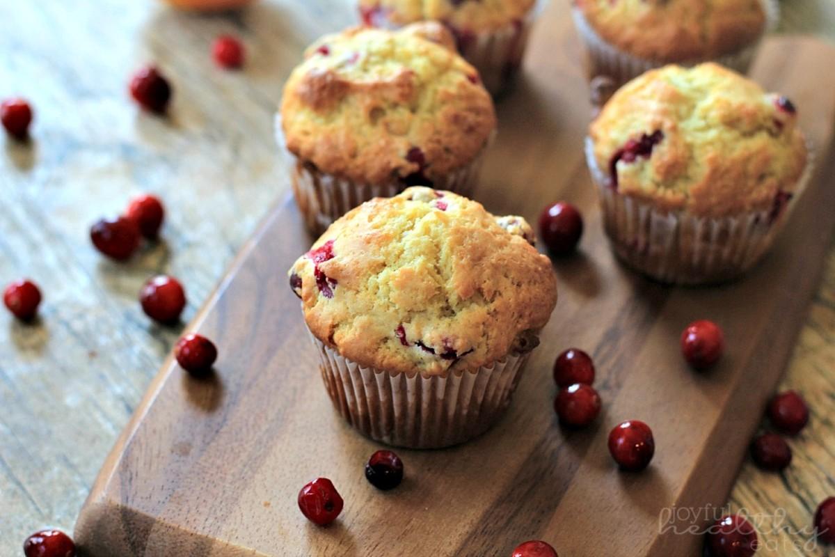 Cranberry Orange Muffins | Joyful Healthy Eats
