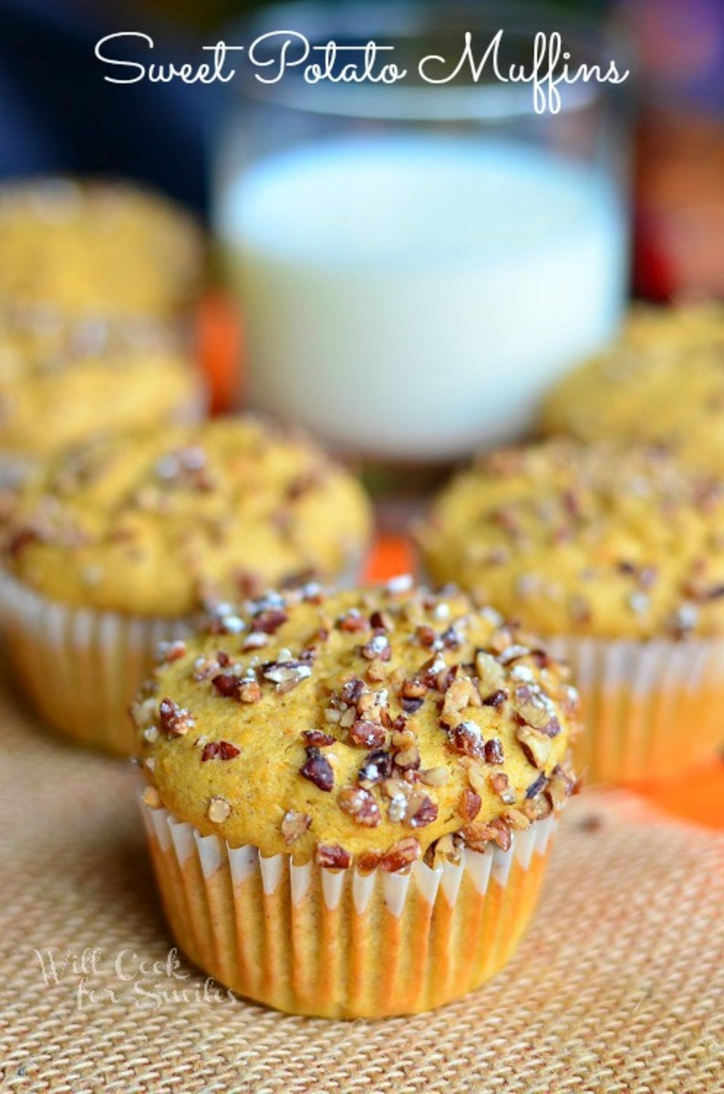 Sweet Potato Muffins | Will Cook for Smiles