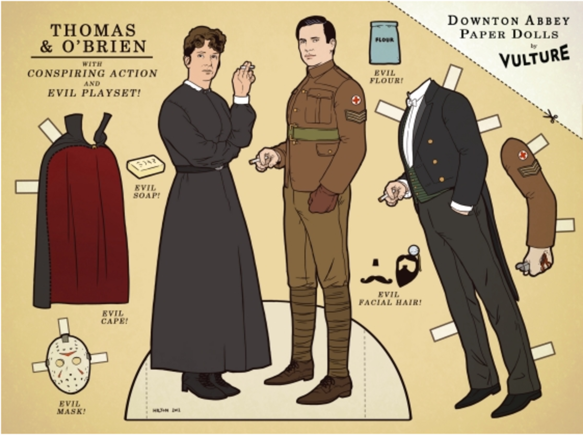 Downton Thomas and Obrien